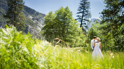 Intimate Yosemite Wedding with Kelly and Adam