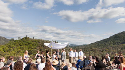 Yosemite Bug Wedding