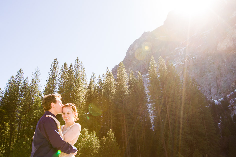 Yosemite Elopement with Erin and Shaun