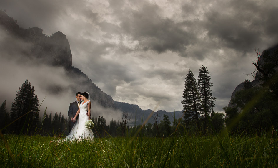 Preview of Nicole and Steven's Stormy Yosemite Wedding