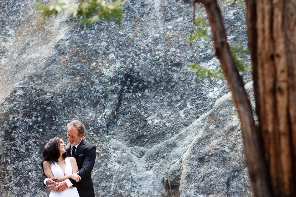 Wedding Portraits in Yosemite