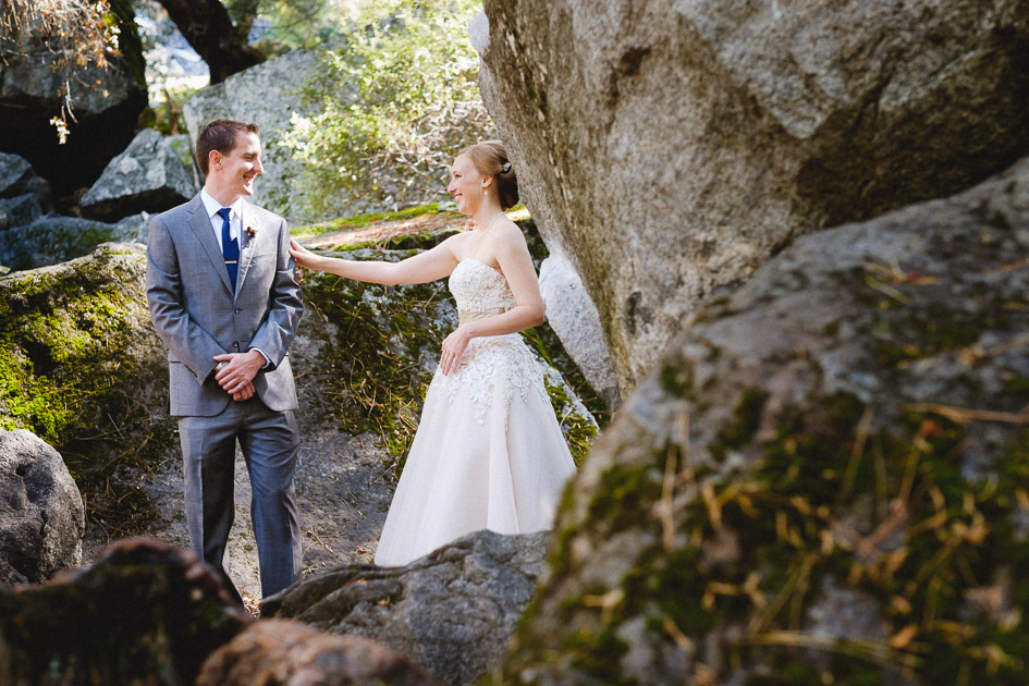 A First Look for your Yosemite Wedding