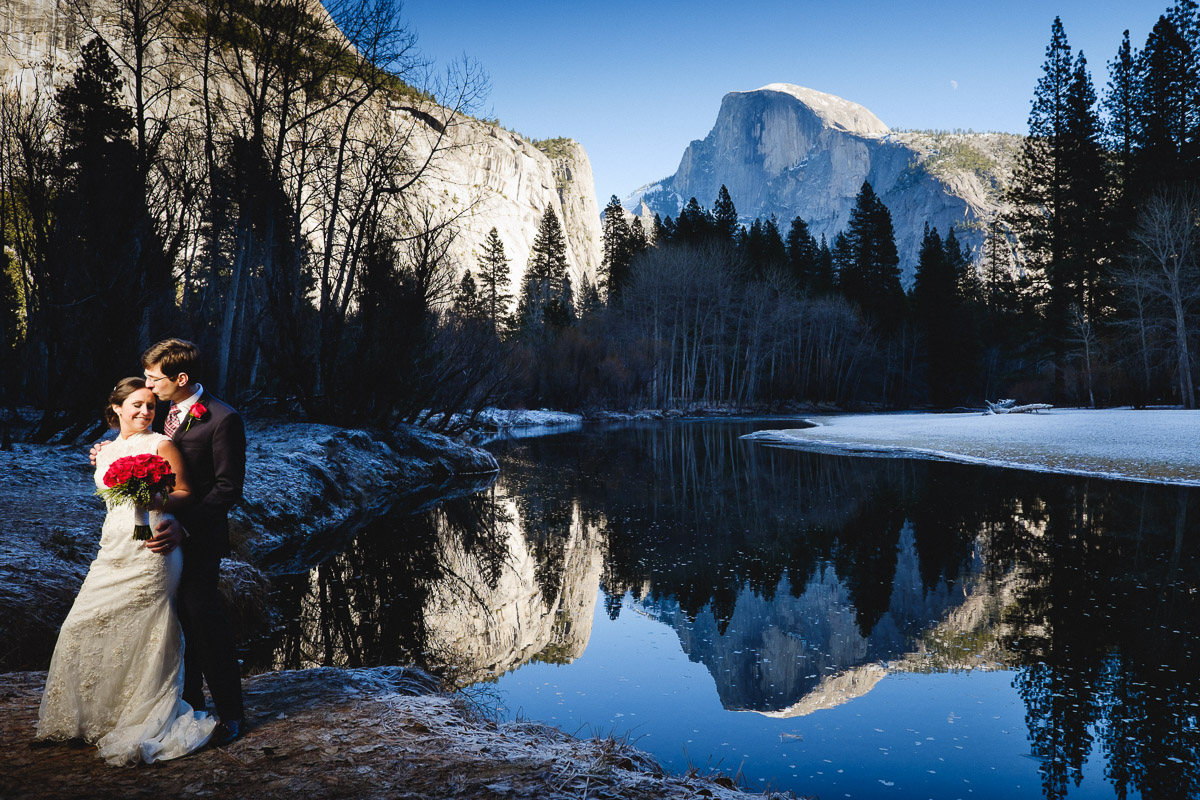 Yosemite Winter Wedding