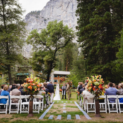 Ahwahnee Wedding Lawn