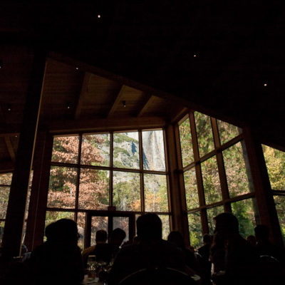 The Mountain Room at the Yosemite Lodge