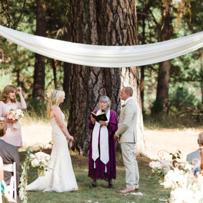 The Wawona Hotel Ceremony