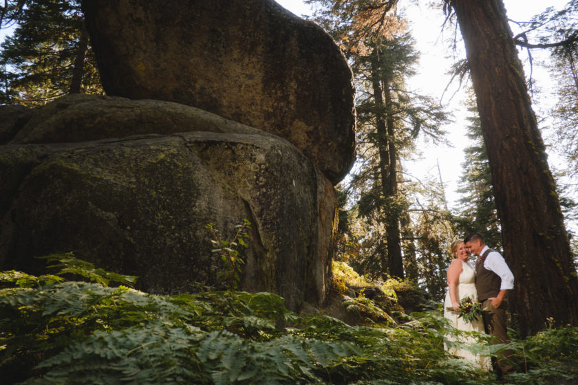 Washburn Point Elopement with Kimberly and Erik