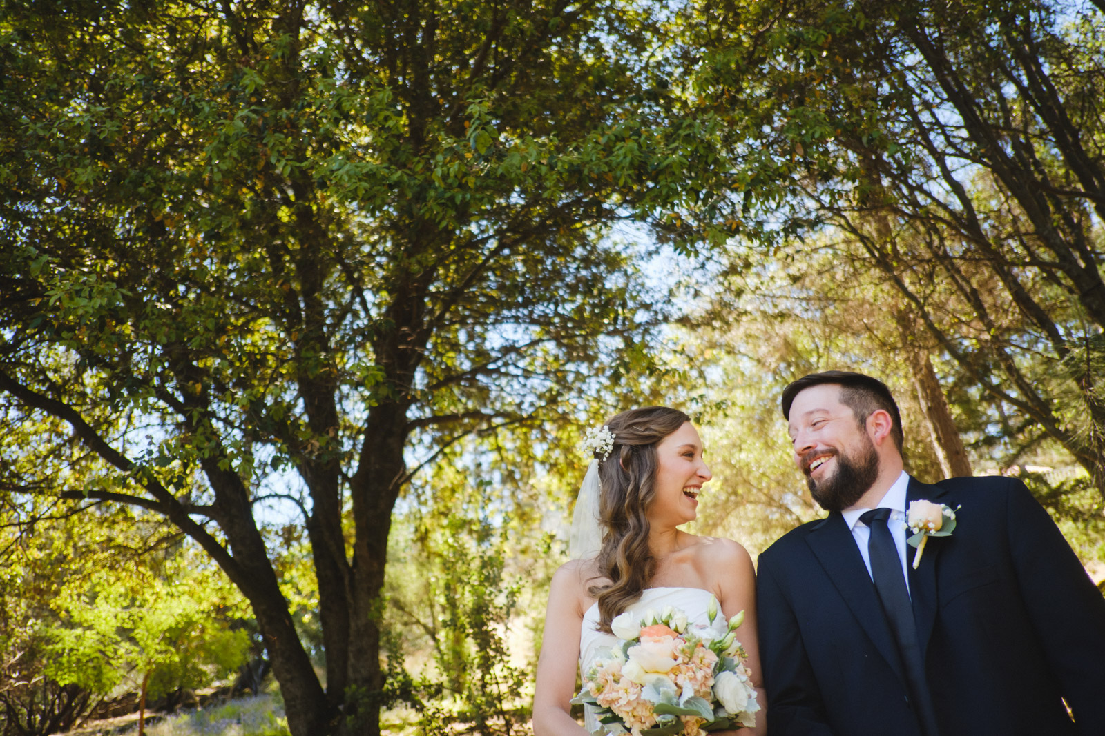 Yosemite Elopement first look at Chateau du Sureau