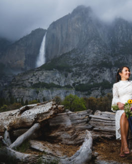 Kamelia and Malcom Elope in Yosemite