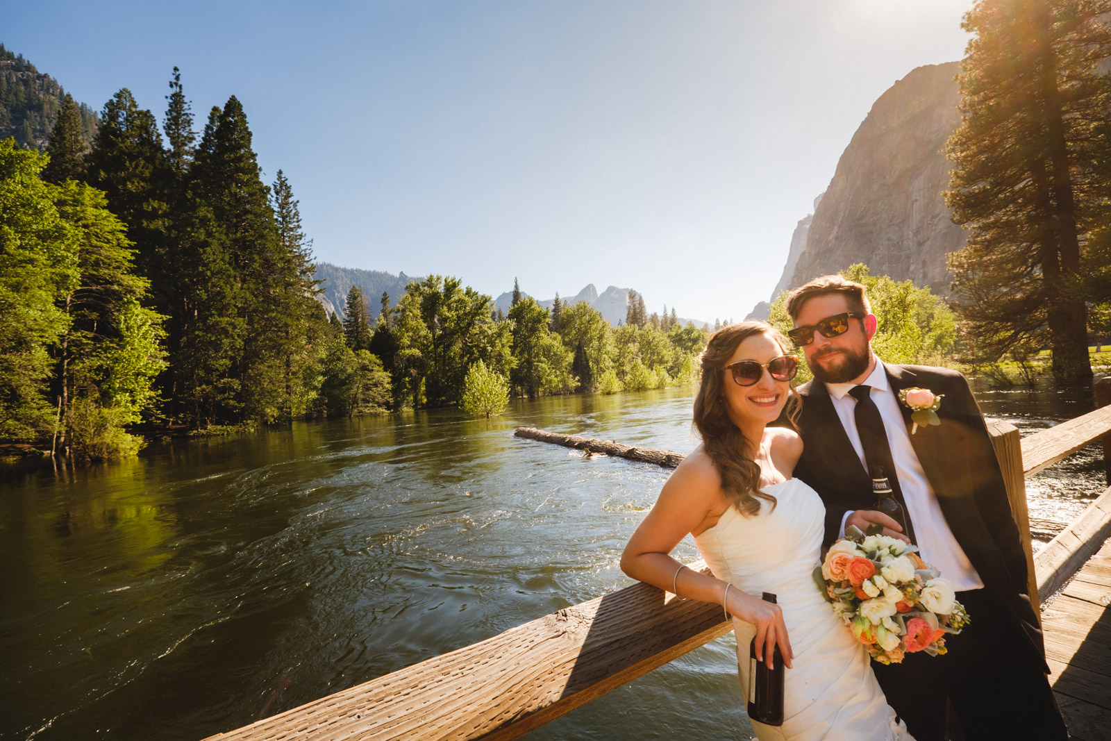 Yosemite Elopement at Swinging Bridge