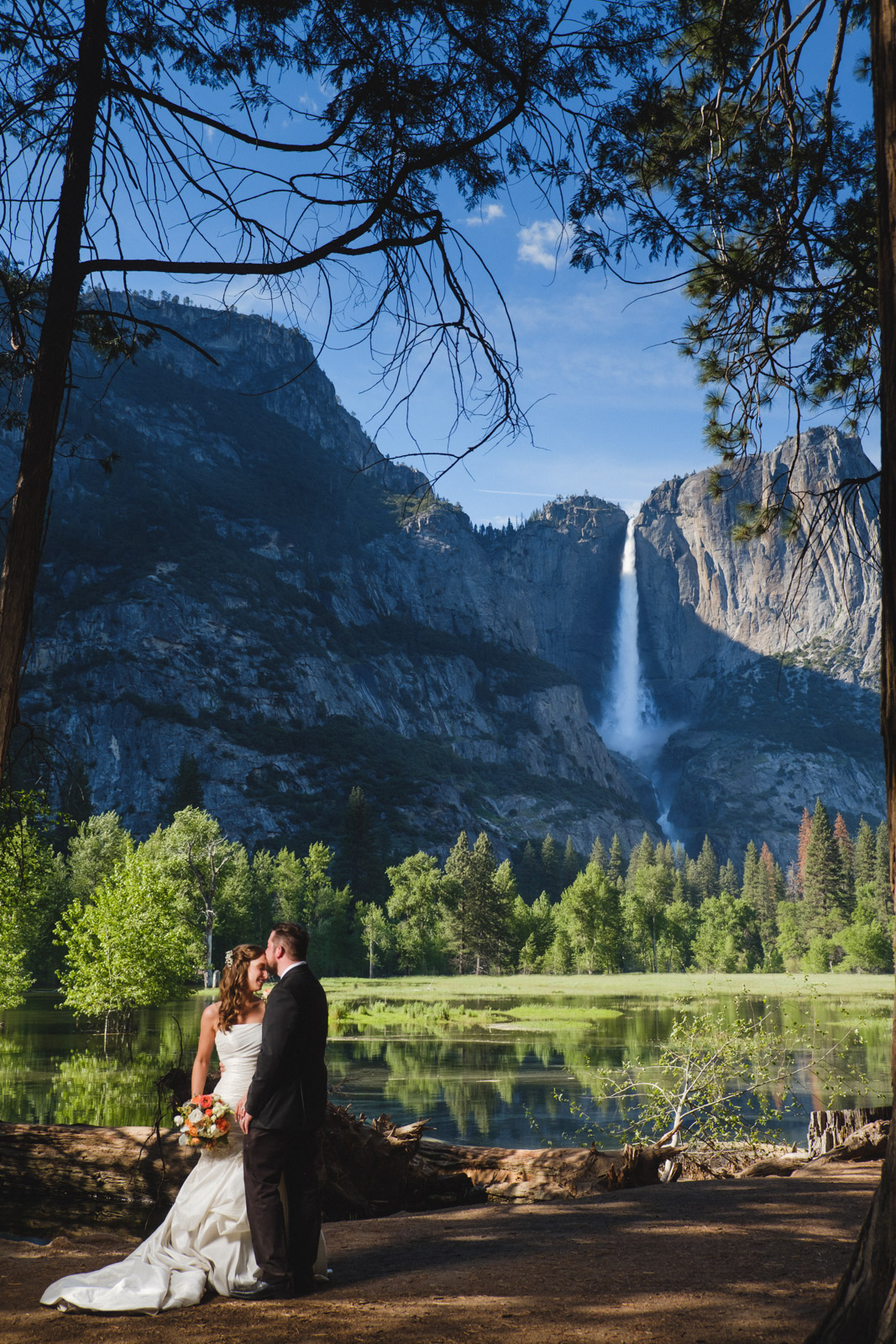 Yosemite Elopement with Yosemite Falls