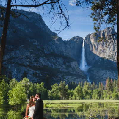 Wedding with Yosemite Falls and flooded valley.jpg