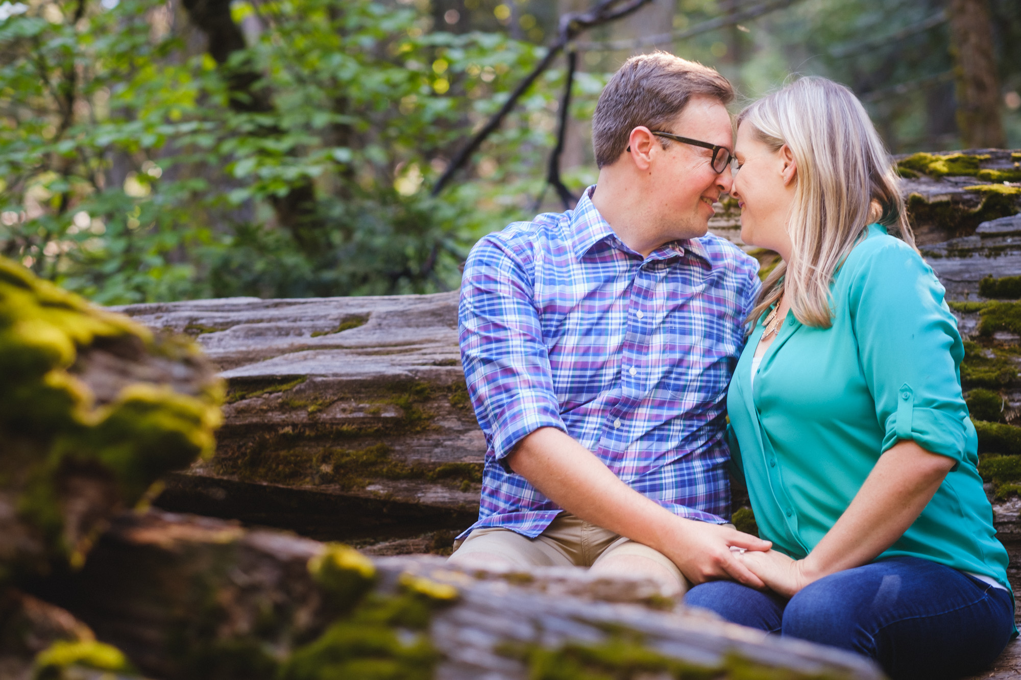 Giant Sequoia Tree Engagement Session